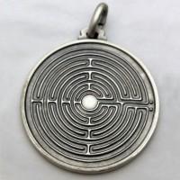 Medaglia Labirinto - argento