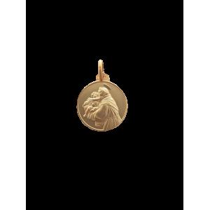 S.Antonio argento laminato oro