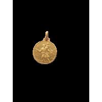S. Cristoforo argento laminato oro