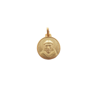 S. Francesco argento laminato oro