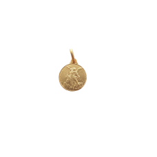 S. Michele argento laminato oro